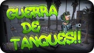 GUERRA DE TANQUES!! - GTA 5 ONLINE c/ Rubinho - bysTaXx