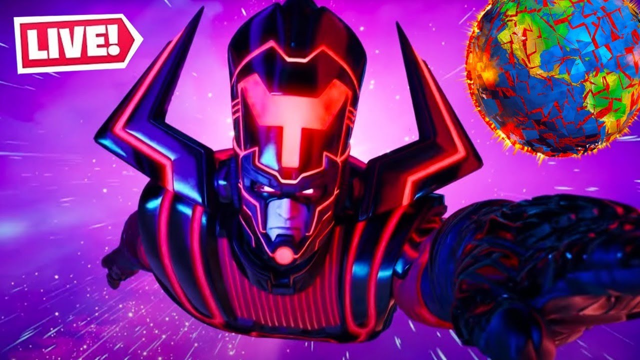 Watch the Fortnite Galactus event live now