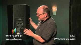 Moyers Online | QSC KW Series Powered Speakers