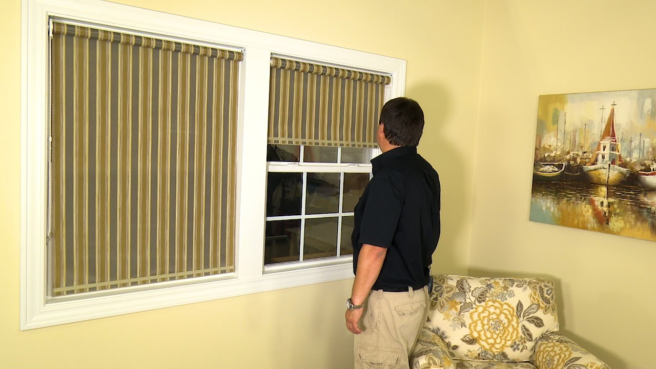 How To Make Roller Shades Youtube