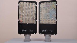 Уличные LED светильники Bellson 60 и 80 Вт (ЛЕД прожекторы для улицы)(, 2015-01-19T13:25:38.000Z)
