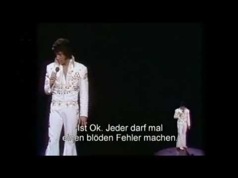 Elvis Presley - No more (La Paloma) 1973, with lyrics