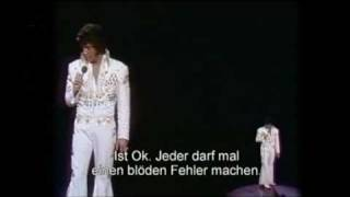 Elvis Presley - No more (La Paloma) 1973, with lyrics