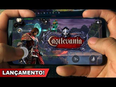 Saiu CASTLEVANIA MOBILE OFICIAL Para Android