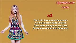 Rozz Kalliope Ece Seçkin   Benjamins 3  Sözleri \u0026 Lyrics Resimi