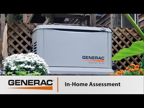 Generac - What to Expect from Your Free In-Home Assessment