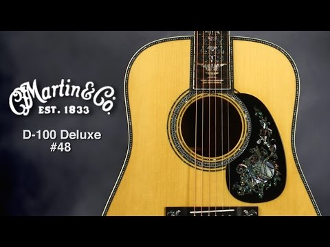 Martin D-100 Deluxe #48 Acoustic Guitar Review by Sweetwater