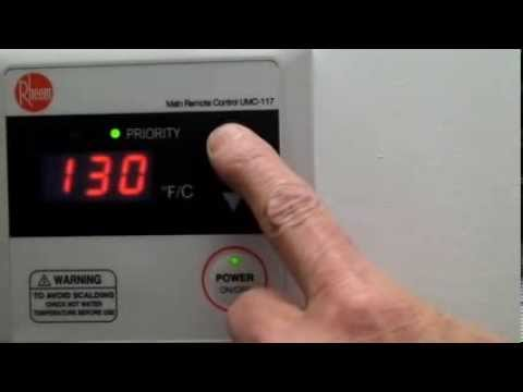 Rheem Tankless Hot Water Tank | Troubleshooting