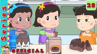 #28 Puding Coklat#Syifa Buat Puding#Jamal Laeli Series Official
