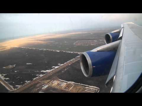B-747-200 Заход и посадка (Ульяновск-Восточный)
