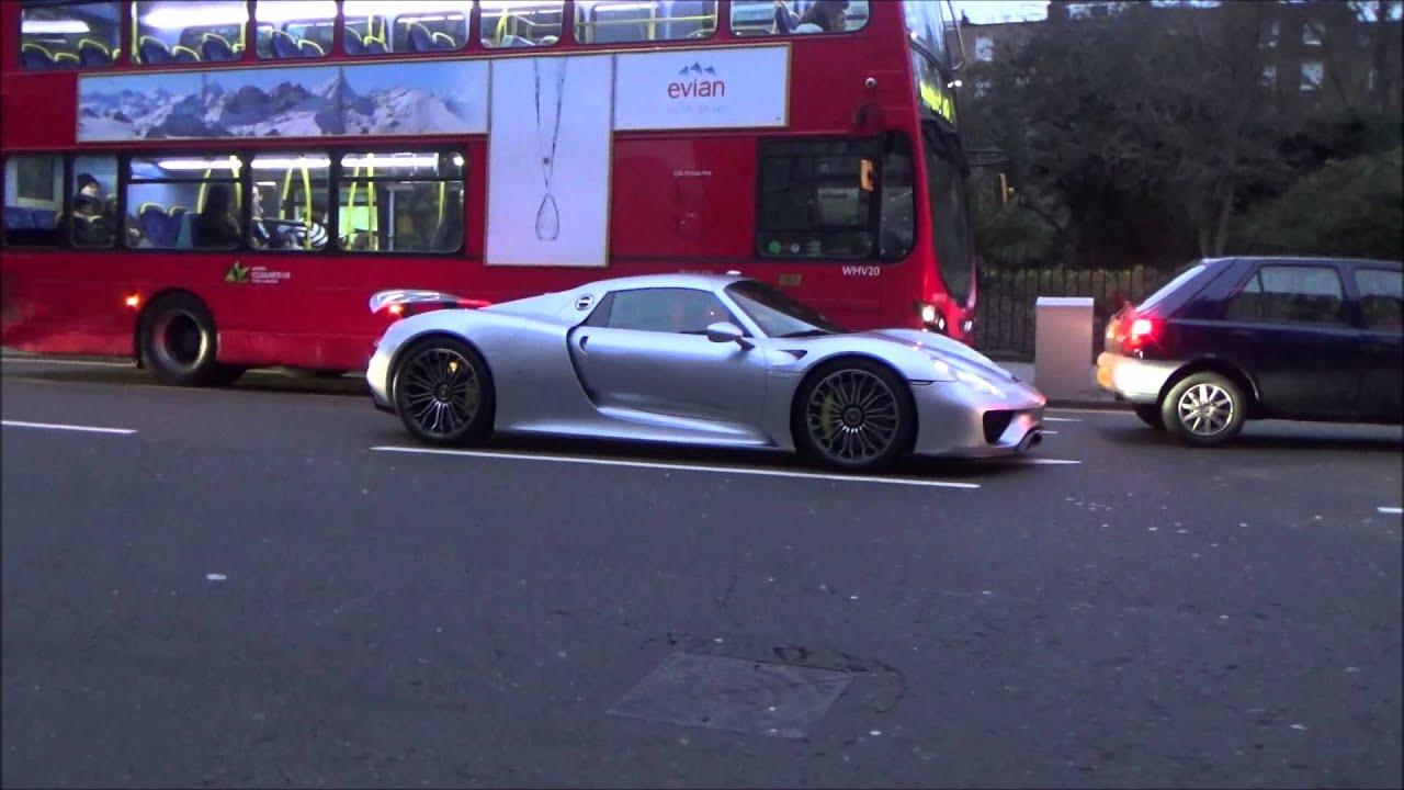 maxresdefault Remarkable Porsche 918 Spyder In London Cars Trend