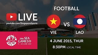 Football Vietnam vs Laos (Bishan Stadium) | 28th SEA Games Singapore 2015