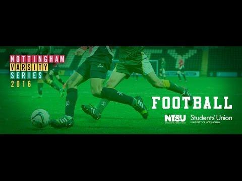 Nottingham Women's Football Varsity 2016 first half