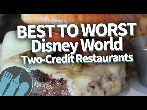 Disney World Signature Dining: Ranking the Disney Dining Plan 2 Credit Restaurants Best to Worst