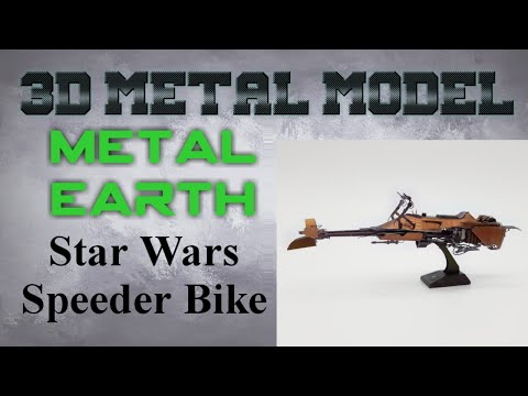 Metal Earth Build - Star Wars Speeder Bike