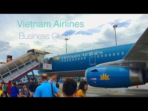 Unimpressive Vietnam Airlines A321 Business Class | Hong Kong - Hanoi