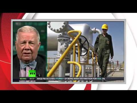 Jim Rogers on investing during an oil and commodities meltdown