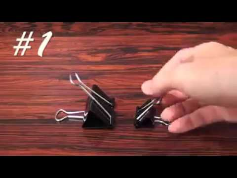 Uses of paper clips