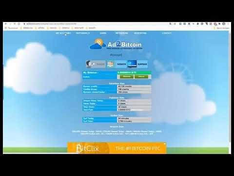 Бесплатные рефералы в любой проект. Ad2bitcoin.