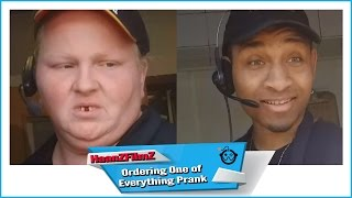 Ordering One Of Everything Prank