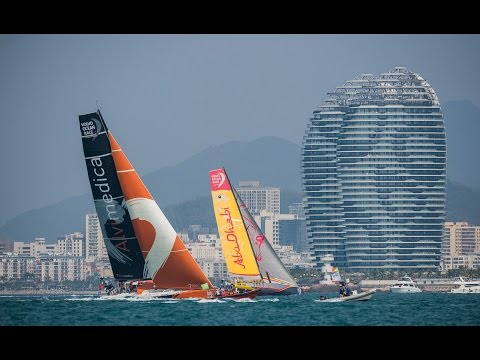 Team Vestas Wind In-Port Race Sanya | Volvo Ocean Race 2014-15