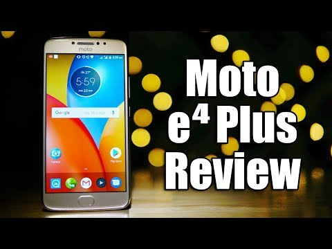 Thumbnail: Moto E4 Plus Review - 5000 mAh Budget Monster?