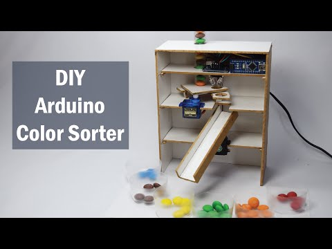 Arduino Color Sorter Project