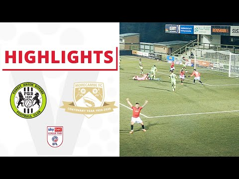 Forest Green Morecambe Goals And Highlights