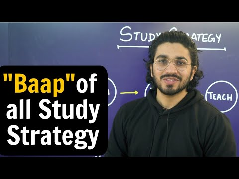 Best Study Strategy for any Exam   RoadMap of Toppers