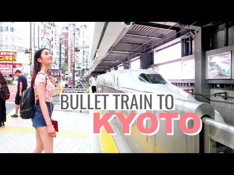 Taking the Bullet Train from Tokyo to Kyoto!⎮Japan Trip 2018