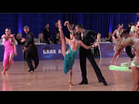 Ayan Zhumatayev - Raziya Salimova KAZ, Rumba | WDSF International Open Latin