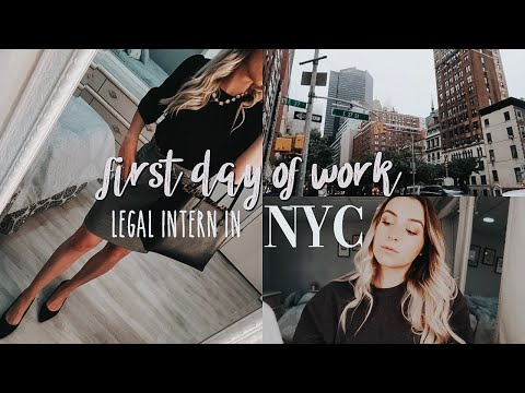 First Day Of Work In New York City 🏙