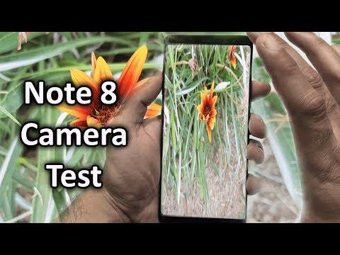 Galaxy Note 8 Camera Review! {Urdu/Hindi}