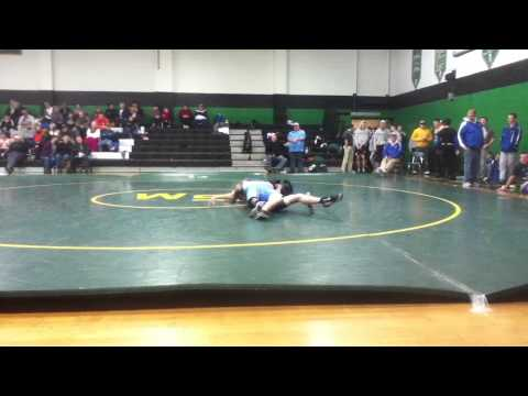 Tyjuan Brown Hopewell wrestling