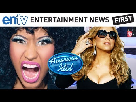 Mariah Carey & Nicki Minaj Feud Causing Big American Idol Problems: ENTV