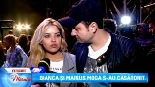 Bianca si Marius Moga s-au casatorit... (La Maruta Editia 210)