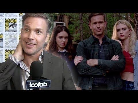 Matt Davis Teases 'Legacies' Spinoff, Caroline & The Twins
