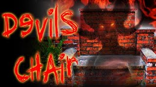 (REAL CURSE) SITTING IN THE HAUNTED DEVIL'S CHAIR | OmarGoshTV