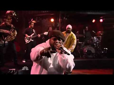 Raekwon feat Ghostface Killah & The Roots -- 'Rock N Roll' - Live On Jimmy Fallon Show