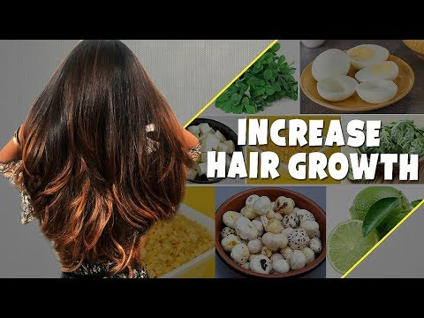 TOP 7 Foods To STOP Hair Loss & INCREASE Hair Growth/Thickne