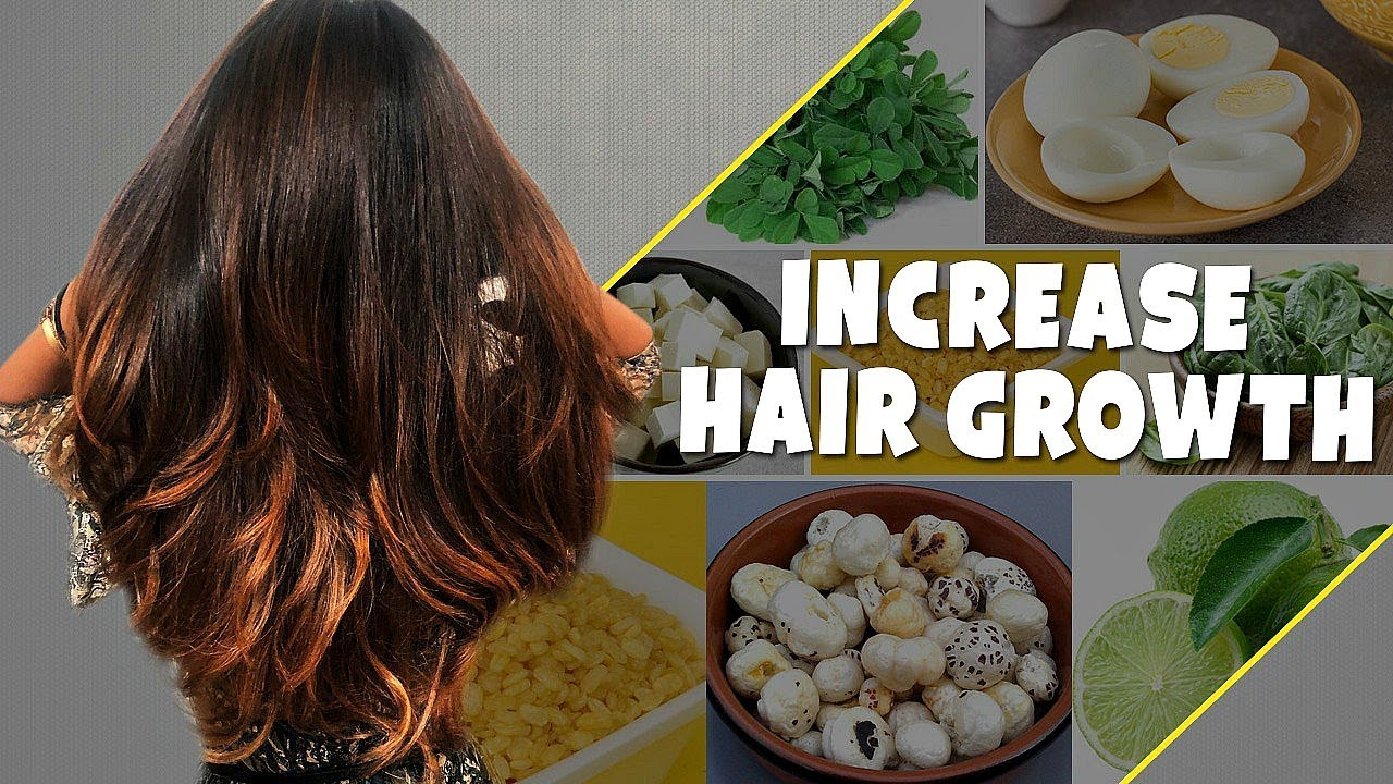 diet to regrow hair fast