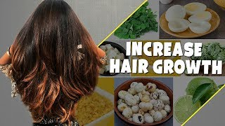 TOP 7 Foods To STOP Hair Loss INCREASE Hair Growth Thickness Strong Hair Tips For Women