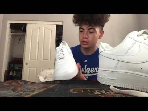 how to tie air forces ! (Loose)