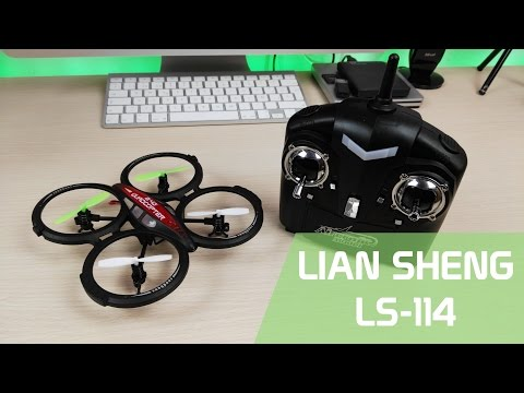 Lian Sheng LS-114 Review mini drone en Español