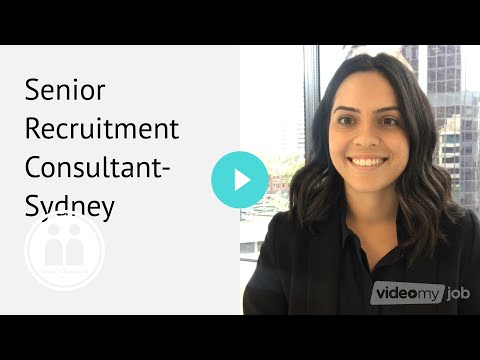 Senior Recruitment Consultant- Sydney