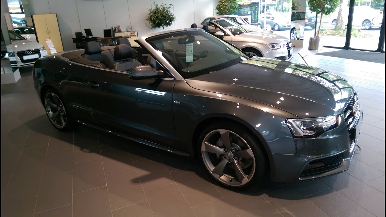 audi a5 cabrio 3 0 tdi quattro 2014 youtube. Black Bedroom Furniture Sets. Home Design Ideas