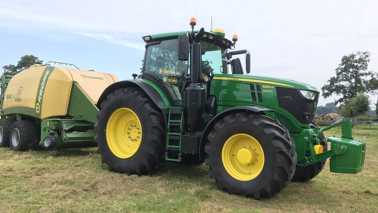 de eerste john deere 6250r in het veld bij groenoord trekkerweb youtube. Black Bedroom Furniture Sets. Home Design Ideas