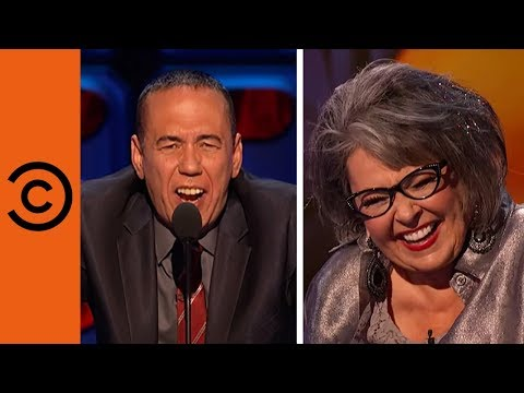 Gilbert Gottfried honours Rozilla at the Roast of Roseanne Barr