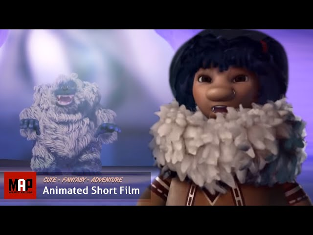 NOKOMI |  3D CGI Animation Short Adventure with a Snow Monster by ESMA