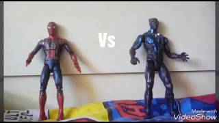 Spiderman vs Black panther stop motion ||Toys and Games